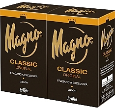Profumi e cosmetici Set - Marine Magno Classic Bar Soap (soap/2x125g)