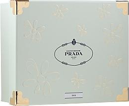 Profumi e cosmetici Prada Les Infusions De Iris - Set (edp/100ml + + b/lot/100ml + edp/mini/10ml)