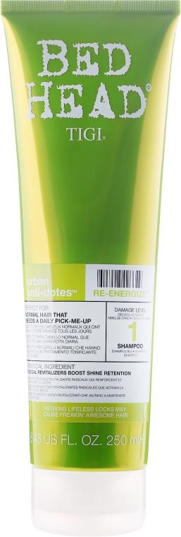 Shampoo capelli rinforzante - Tigi Bed Head Urban Antidotes Re-energize Shampoo
