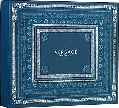 Profumi e cosmetici Versace Man Eau Fraiche - Set (edt/100ml + sh/gel/150ml + edt/10ml)