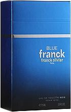 Profumi e cosmetici Franck Olivier Franck Blue - Eau de Toilette