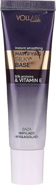 Base trucco opacizzante - Vollare Cosmetics Mattifying Silky Base Instant Smoothing