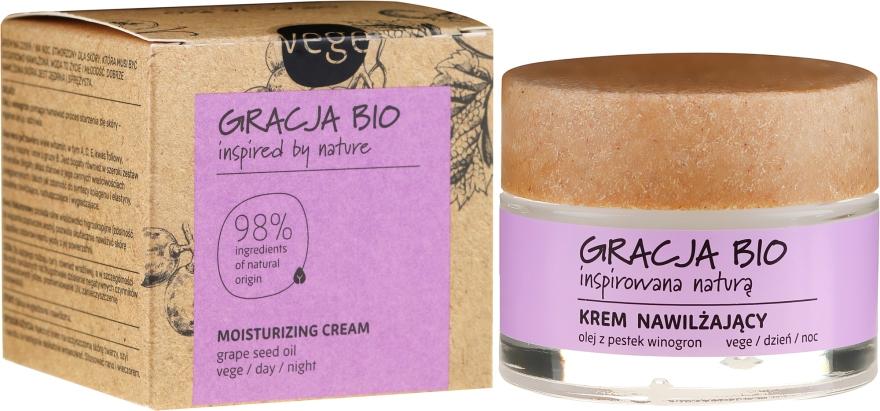 Crema viso idratante con olio di semi d'uva - Gracja Bio Moisturizing Face Cream — foto N1