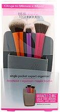 """Profumi e cosmetici Organizzatore per pennelli """"Grigio"""" - Real Techniques Single Pocket Expert Organizer Grey"""