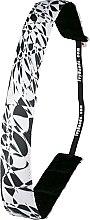 Profumi e cosmetici Fascia per capelli, stampa in bianco e nero - Ivybands Abstract Art Hair Band