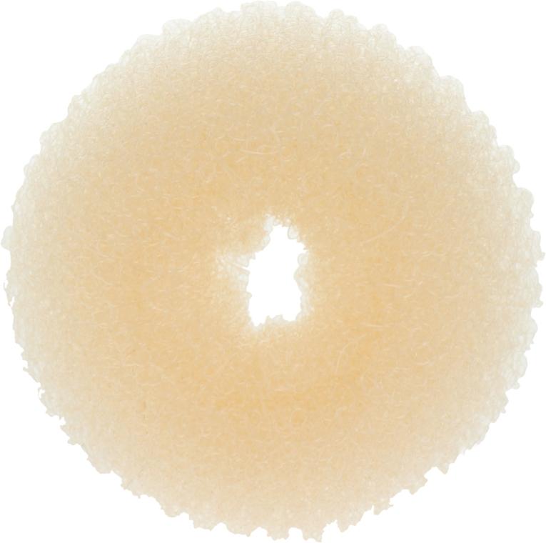 Ciambella per capelli 20360, beige chiaro, taglia S - Top Choice