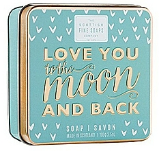 Profumi e cosmetici Sapone - Scottish Fine Soaps Love You To The Moon And Back Soap In A Tin