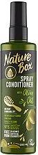 Profumi e cosmetici Spray-condizionante per capelli - Nature Box Olive Oil Spray Conditioner