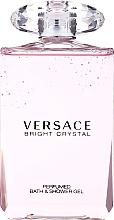 Profumi e cosmetici Versace Bright Crystal - Gel doccia