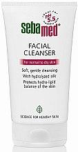 Profumi e cosmetici Detergente per pelli normali e secche - Sebamed Facial Cleanser For Normal & Dry Skin