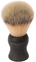 Profumi e cosmetici Pennello da barba - Acca Kappa Shaving Brush Natural Style Nero