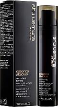 Profumi e cosmetici Siero per capelli da notte - Shu Uemura Art Of Hair Essence Absolue Overnight Serum