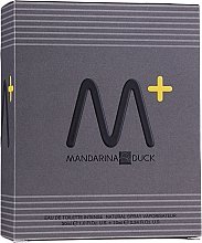 Profumi e cosmetici Mandarina Duck M+ - Set (edt/30ml + edt/10ml)