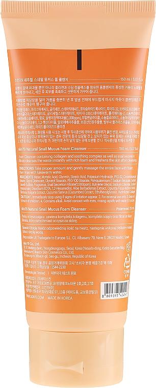 Schiuma detergente con bava di lumaca - Skin79 Natural Snail Mucus Foam Cleanser — foto N2