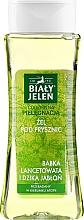 Profumi e cosmetici Gel doccia con piantaggine e mela selvatica - Bialy Jelen Plantain And Wild Apple Tree Shower Gel