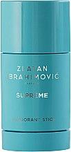 Profumi e cosmetici Zlatan Ibrahimovic Supreme Pour Homme - Deodorante stick
