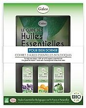 """Profumi e cosmetici Set di oli essenziali """"Per un buon sonno"""" - Galeo To Help You Sleep Gift Set (ess/oil/3x10ml)"""