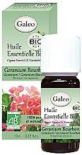 Profumi e cosmetici Olio essenziale di geranio bourbon - Galeo Organic Essential Oil Geranium Bourbon