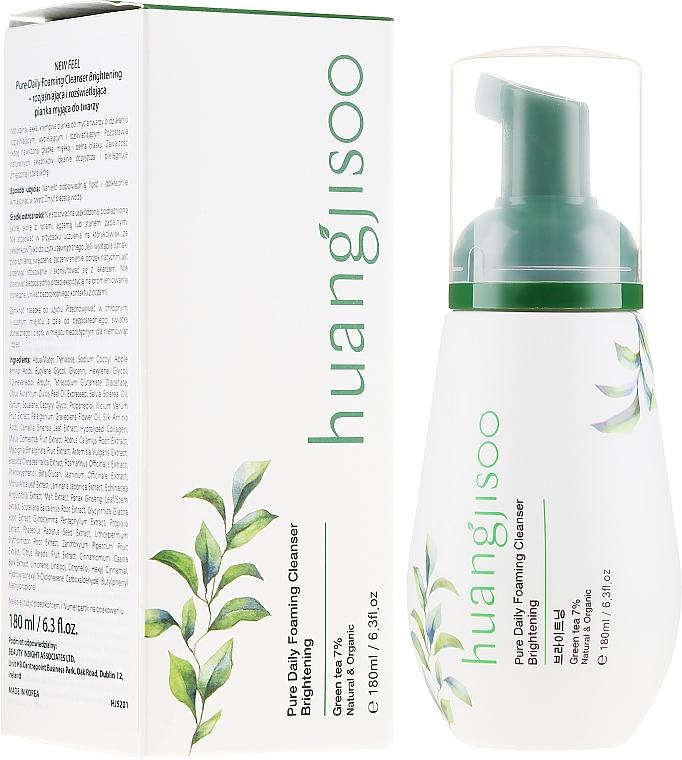 Schiuma detergente viso schiarente - Huangjisoo Pure Daily Foaming Cleanser Brightening