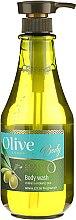 Profumi e cosmetici Gel doccia - Frulatte Olive Body Wash