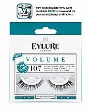 Profumi e cosmetici Ciglia finte №107 - Eylure Pre-Glued Volume
