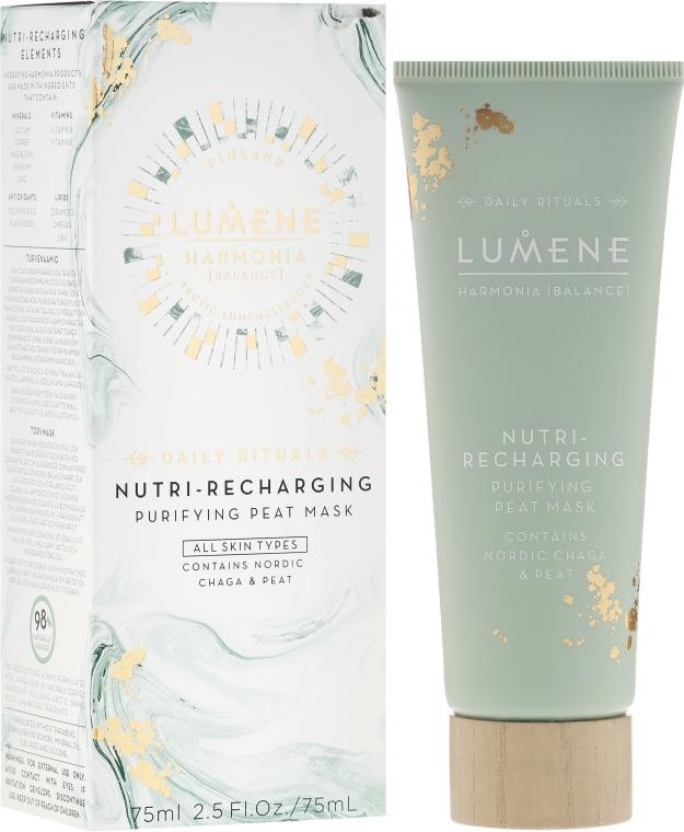 Maschera rigenerante e depurativa a base di torba - Lumene Harmonia Nutri-Recharging Purifying Peat Mask