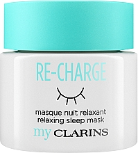 "Profumi e cosmetici Maschera viso da notte ""Relax"" - Clarins My Clarins Re-Charge Relaxing Sleep Mask"