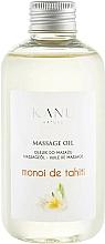 """Profumi e cosmetici Olio da massaggio """"Monoi de Tahiti"""" - Kanu Nature Monoi de Tahiti Massage Oil"""