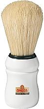 Profumi e cosmetici Pennello da barba, 10049, bianco - Omega