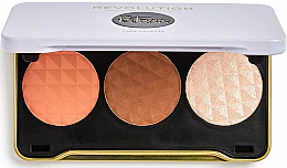 Profumi e cosmetici Palette contouring - Makeup Revolution Patricia Bright Face Palette