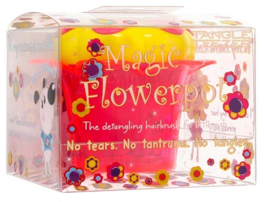 Spazzola per capelli - Tangle Teezer Magic Flowerpot Princess Pink