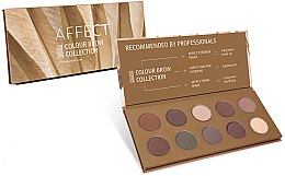 Profumi e cosmetici Palette ombretti sopracciglia - Affect Cosmetics Color Brow Collection