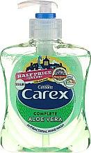 """Profumi e cosmetici Sapone liquido antibatterico """"Aloe Vera"""" - Carex Aloe Vera Hand Wash"""