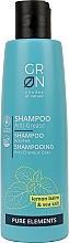 """Profumi e cosmetici Shampoo per il cuoio capelluto grasso """"Melissa e sale marino"""" - GRN Pure Elements Anti-Grease Shampoo"""