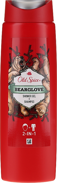 Shampoo-gel doccia 2in1 - Old Spice Bearglove Shower Gel + Shampoo