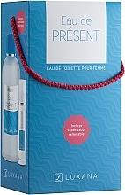 Profumi e cosmetici Luxana Eau De Present - Set (edt/1000ml + edt/50ml)