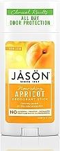 """Profumi e cosmetici Deodorante Stick """"Albicocca"""" - Jason Natural Cosmetics Pure Natural Deodorant Stick Apricot"""