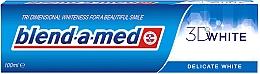 """Profumi e cosmetici Dentifricio """"Sbiancamento delicato"""" - Blend-a-med 3D White Delicate White"""
