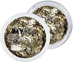 Profumi e cosmetici Fiocchi dorati per il design delle unghie - MylaQ My Gold Flakes