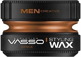 Profumi e cosmetici Cera per capelli - Vasso Professional Hair Styling Wax Spike
