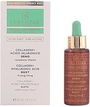 Profumi e cosmetici Concentrato rassodante liftante per seno - Collistar Attivi Puri Collagene + Acido Ialuronico
