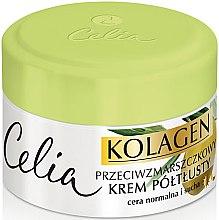 Profumi e cosmetici Crema anti-rughe per pelli normali e secche - Celia Collagen Cream
