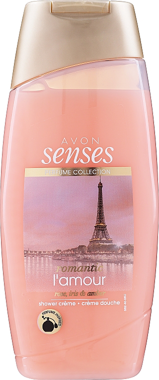 "Gel-crema doccia ""Tenero amore a Parigi"" - Avon Shower Gel"