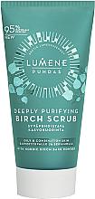 Profumi e cosmetici Scrub viso pulizia profonda - Lumene Puhdas Deeply Purifying Birch Scrub