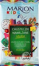 "Profumi e cosmetici Salviette umidificate ""School"", 10 pz - Marion Kids"