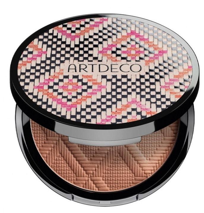 Cipria di tre colori con un effetto abbronzatura naturale - Artdeco All Seasons Bronzing Powder