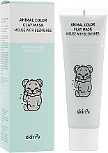 Profumi e cosmetici Maschera purificante all'argilla - Skin79 Animal Color Clay Mask Mouse With Blemishes