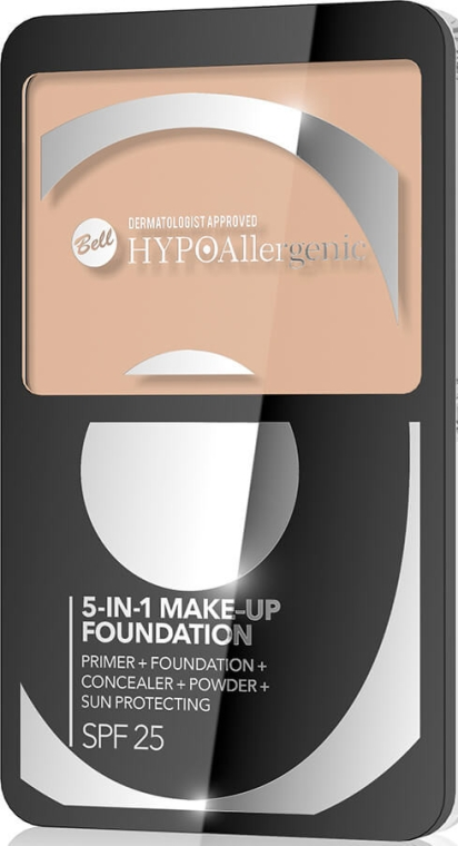 Fondotinta viso 5in1 - Bell Hypoallergenic Make-up Fondation SPF 25