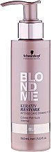 Profumi e cosmetici Crema intensiva alla cheratina per capelli biondi - Schwarzkopf Professional BlondMe Keratin Restore Intense Care Bonding Potion