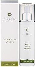 Profumi e cosmetici Emulsione tonificante con 3 tipi di cellule staminali - Clarena Eco Line Tricelles Toner Emulsion